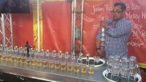 Bartender Breaks World Record for Pouring the Most Jagerbomb Shots in One Go