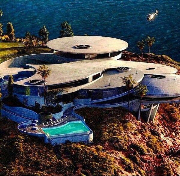 tony stark's abode | Architecture house, Millionaire homes ...
