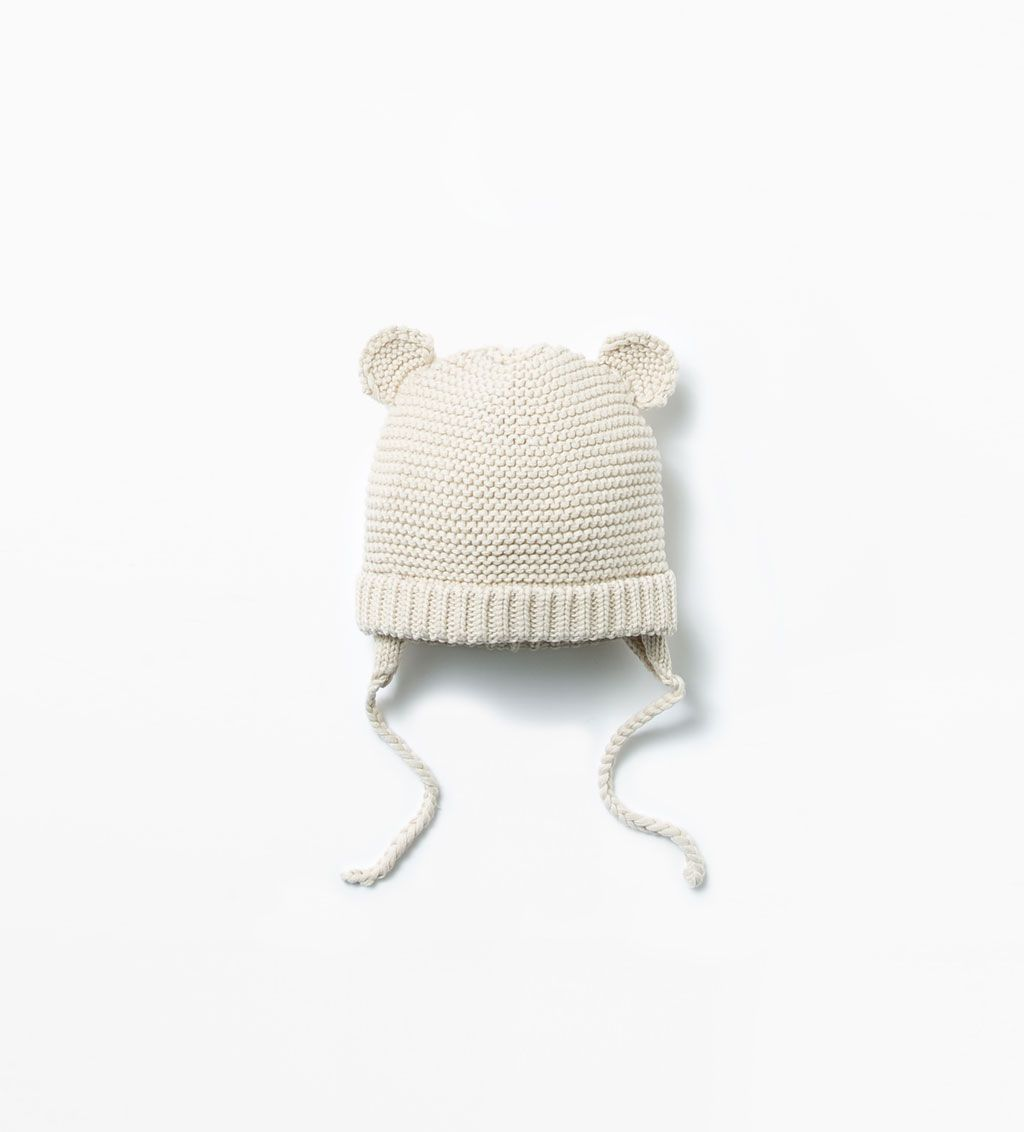 8d28f2ae Image 1 of BABY HAT WITH EARS from Zara   bby   Baby hats, Zara baby ...