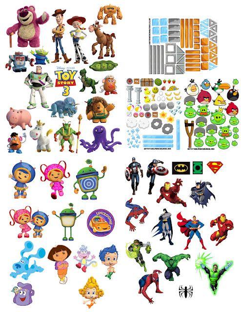 printable images for magnet toys | Clip Art & Printables ...
