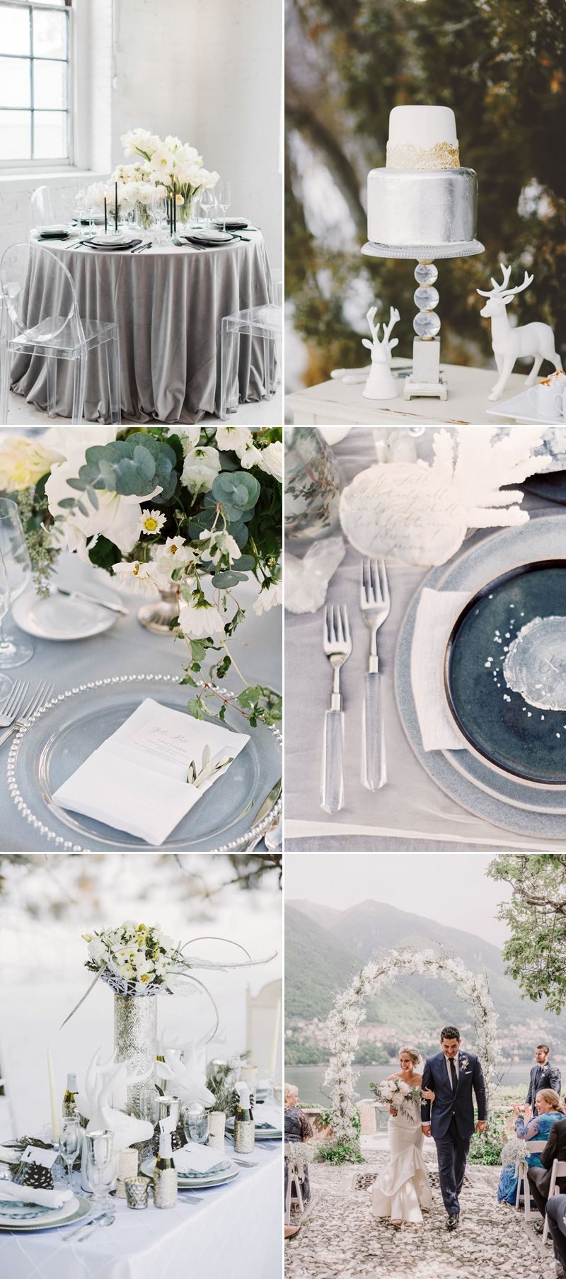 Colors of the Season! Top 7 Sophisticated Winter Wedding Color ...