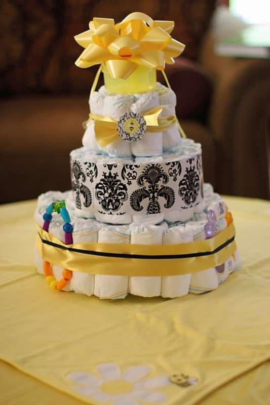 Bumblebee Baby Shower Party Ideas   Photo 11 of 19