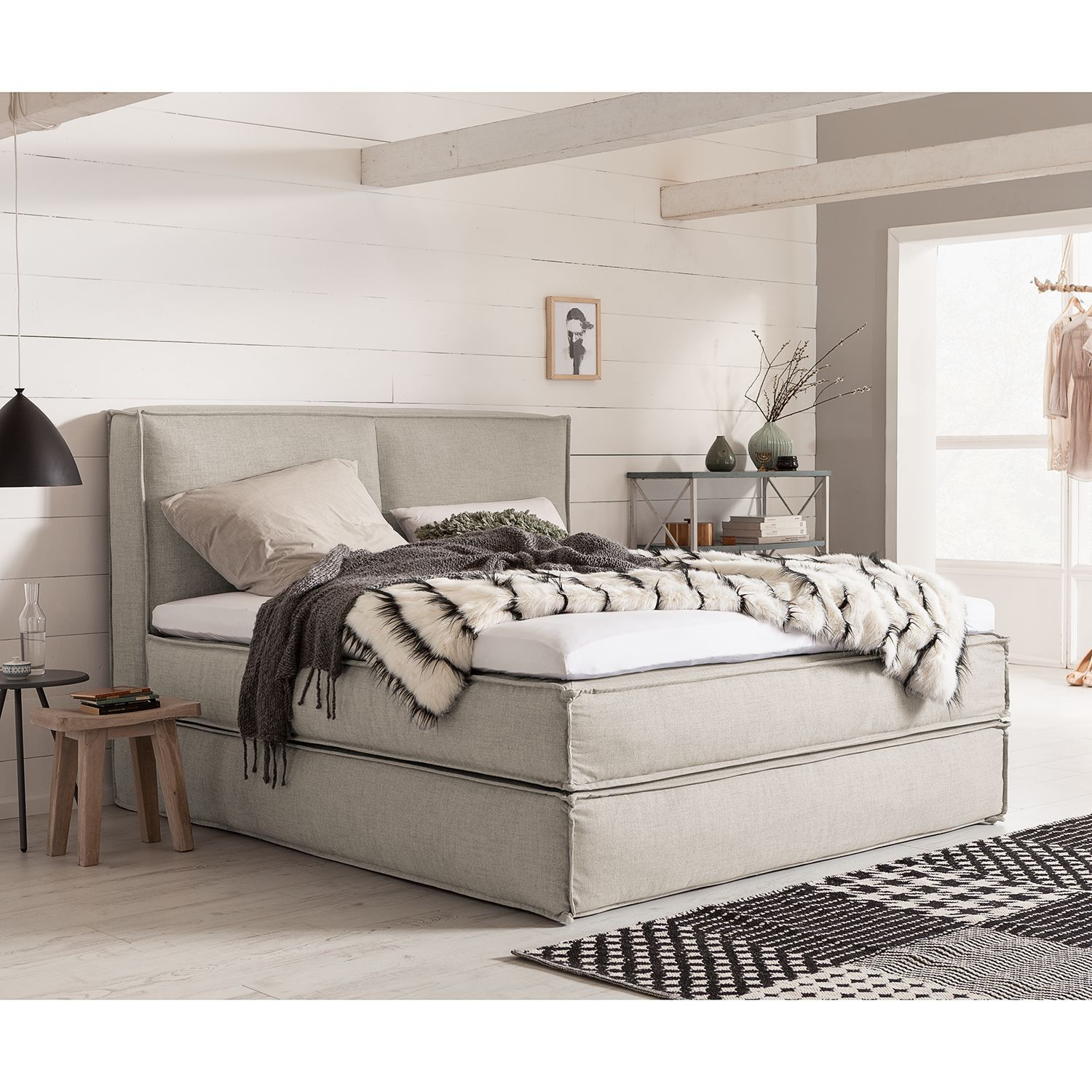 Boxspringbett Kinx In 2020 Bed Bed Springs Parents Room