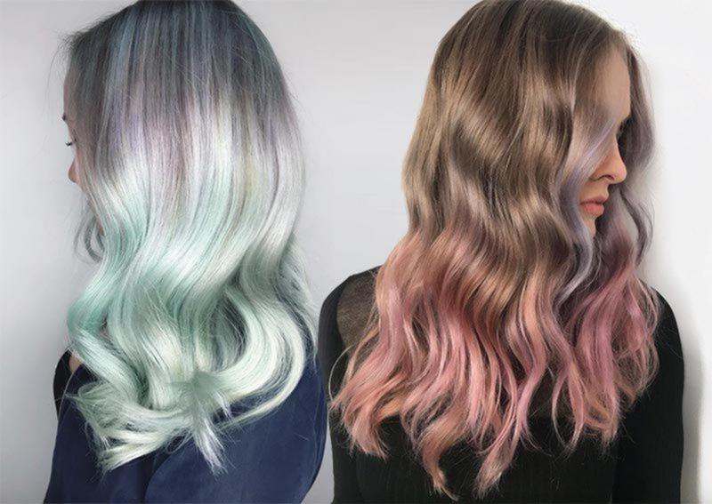 Machen Sie Den Ubergang Von Herbst Zu Winter Haar Farben Nahtlos Und
