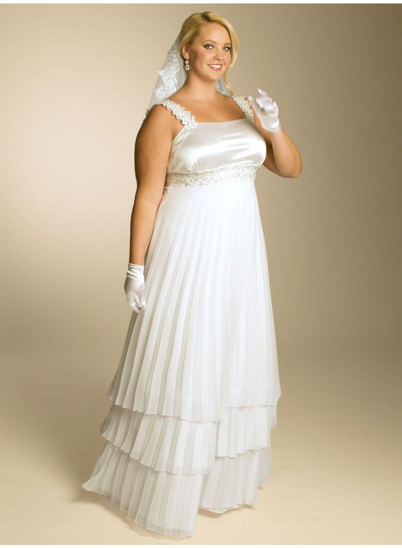 Plus size wedding reception dresses for guests  Madelaine Chiffon Wedding Dress IGIGI by Yuliya Raquel igigi