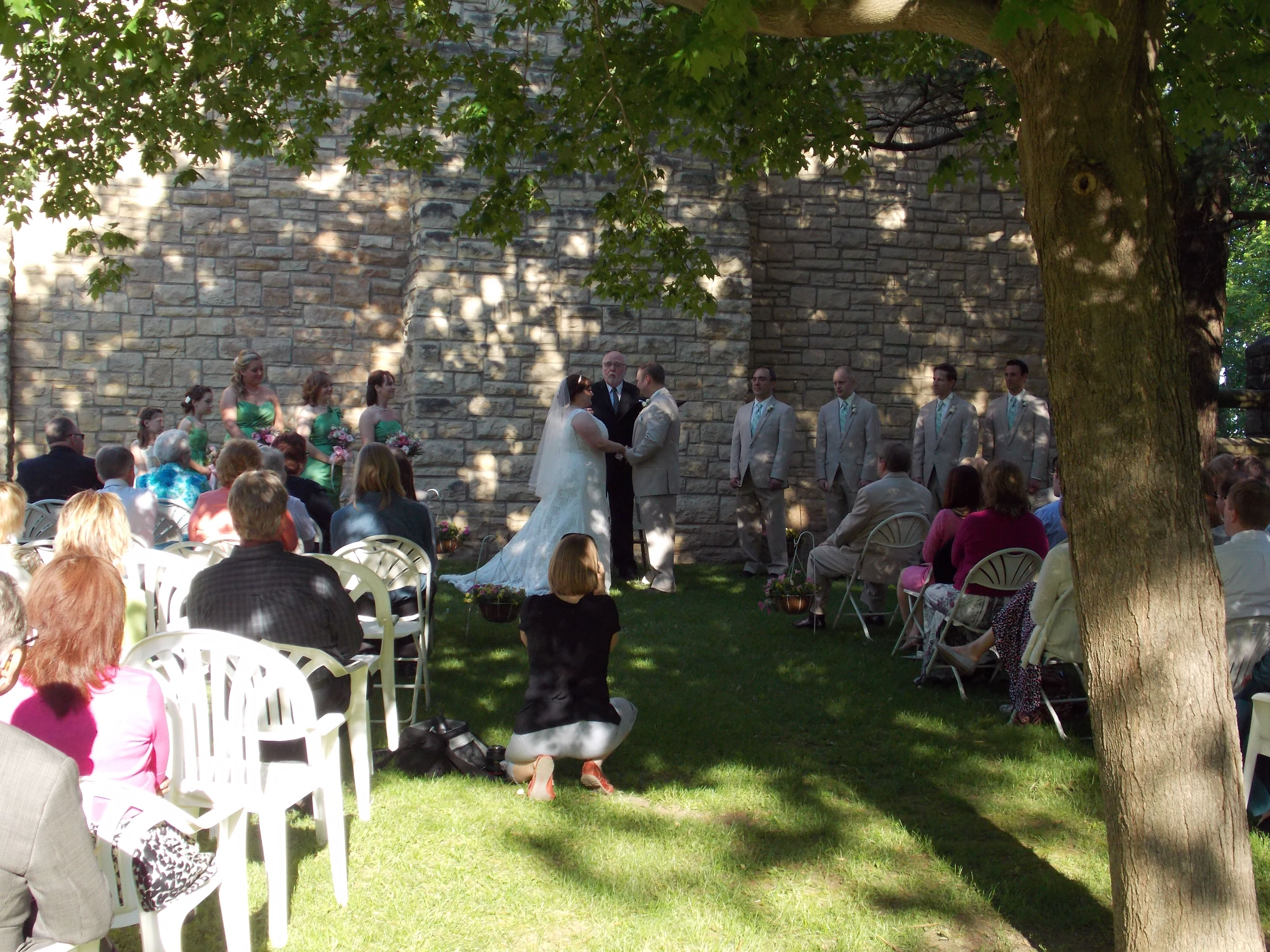 Outdoor Ceremony At Black Hawk State Park, Rock Island