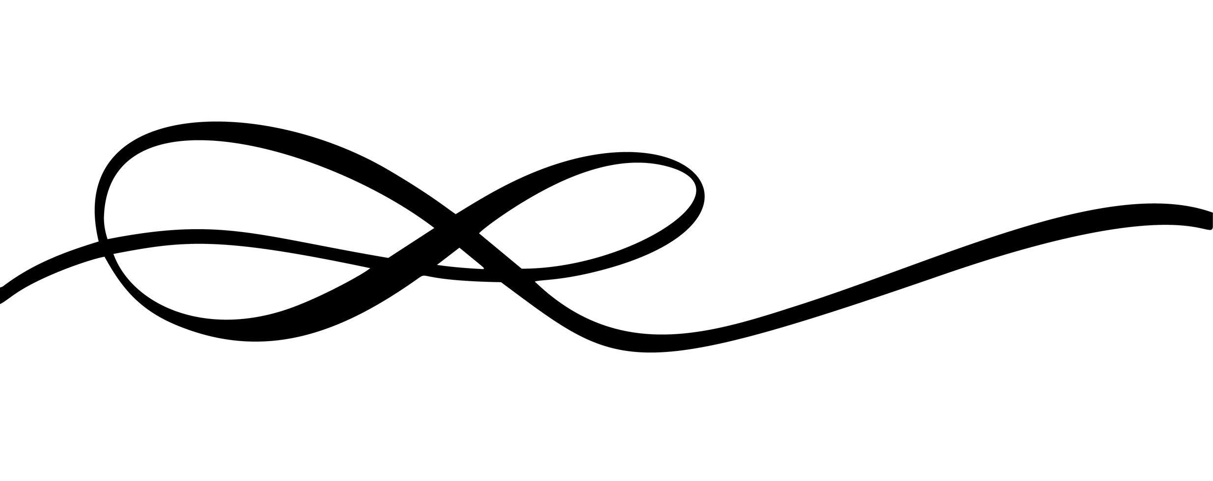 Infinity Calligraphy Vector Illustration Symbol Eternal Limitless Emblem Black Mobius Ribbon Silho Infinity Tattoo Designs Graphic Design Logo Graphic Design