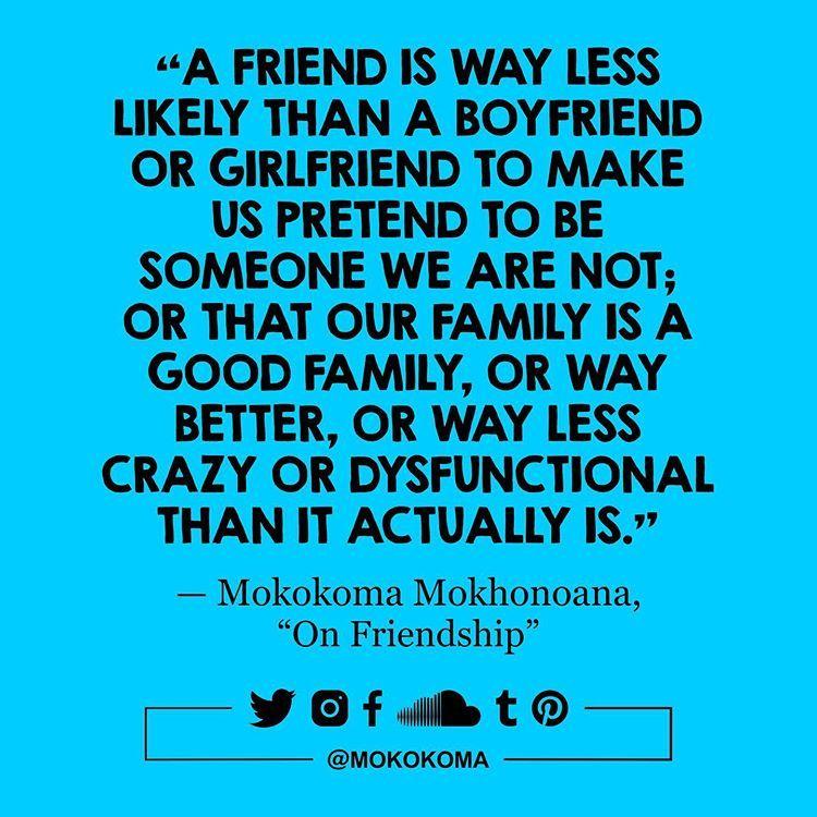 Friendship essays relation