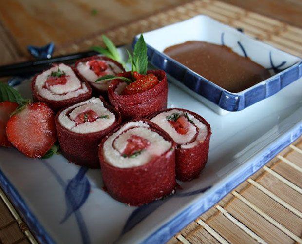 recette a base de fraise
