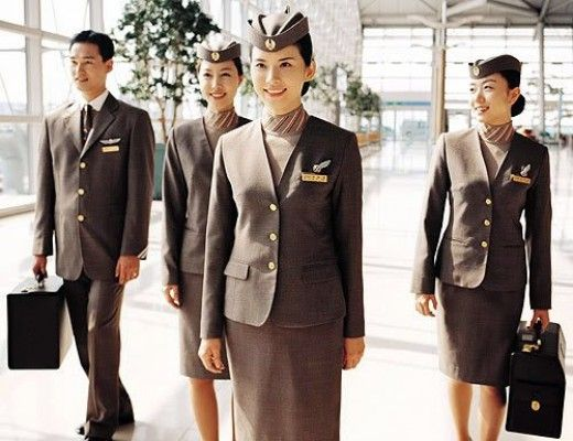 Top Asian Airlines Flight Attendant Uniforms Glamourous