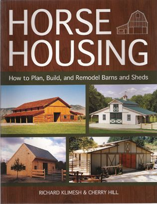 Horse barn planning, building, remodeling book  Laws