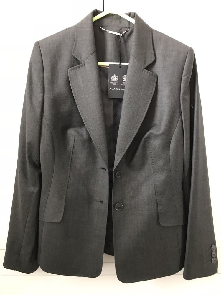 Austin Reed Wool Ladies Suit Jacket Trousers Size 10 Pure Wool Bnwt 450 Fashion Clothing Shoes Accessories Womensclothin Suits For Women Jackets Suits