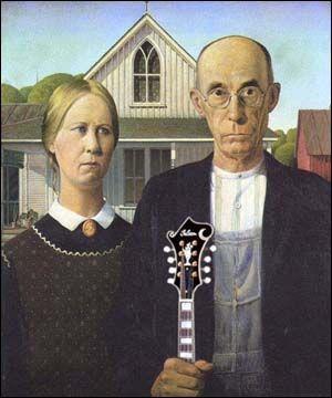 American Mandolin Gothic