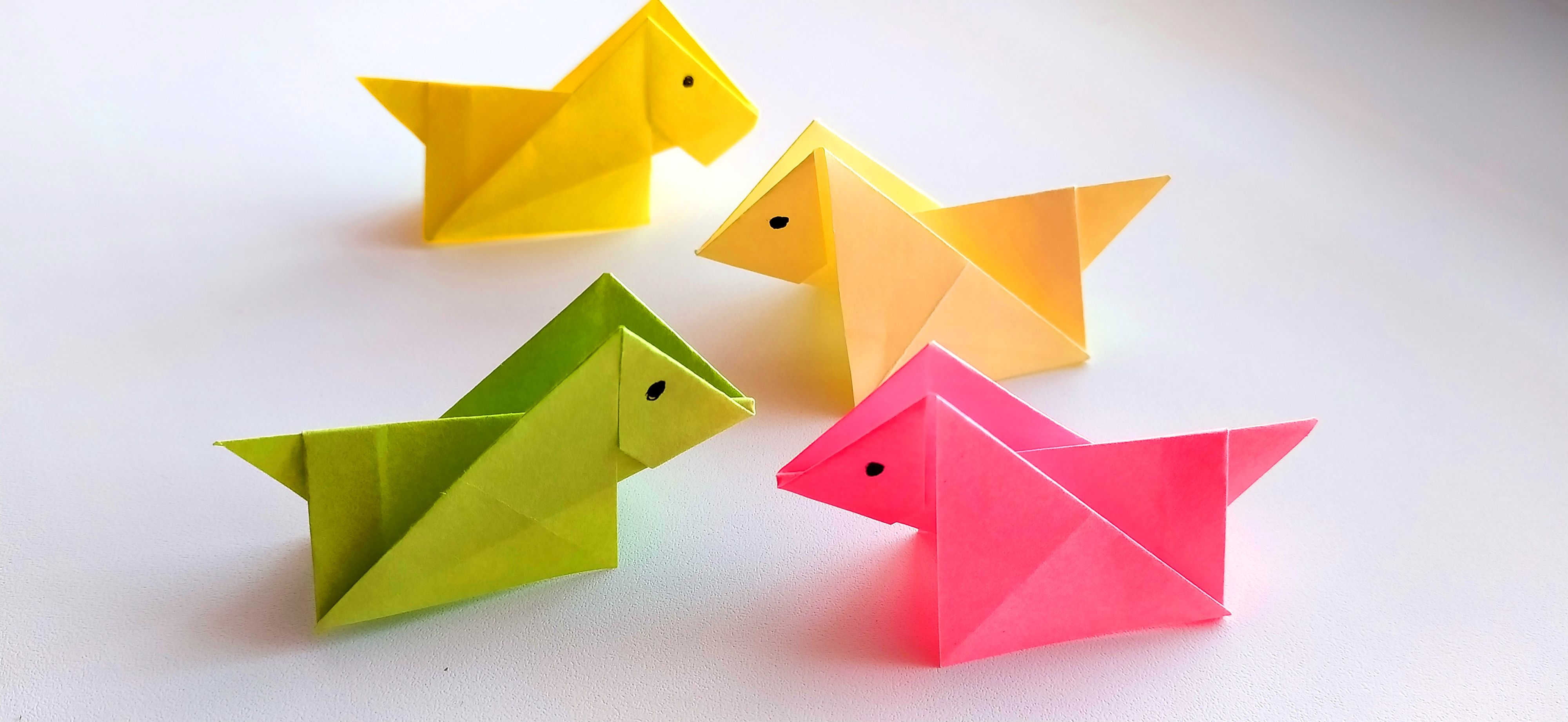 Photo of How to Make An Easy Paper DOG. Origami Tutorial for Kids and Beginners