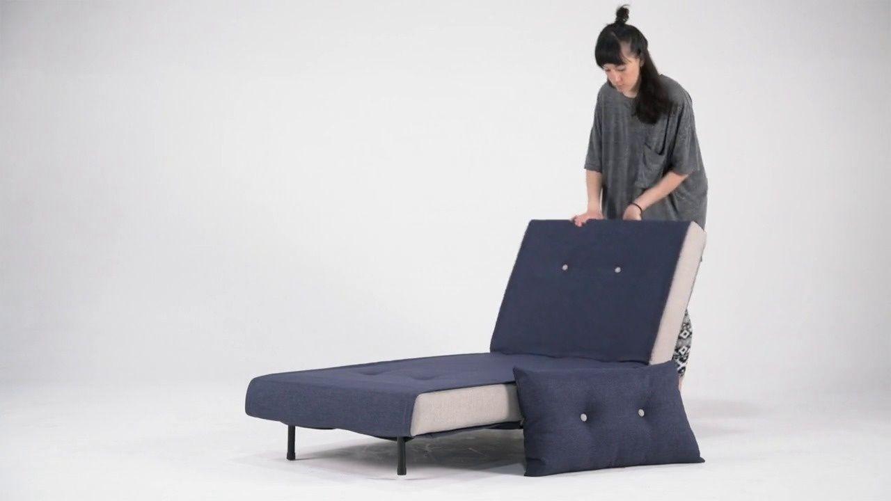 Made Schlafsofa Blau Schlafsessel Single Couch Und Bettsofa