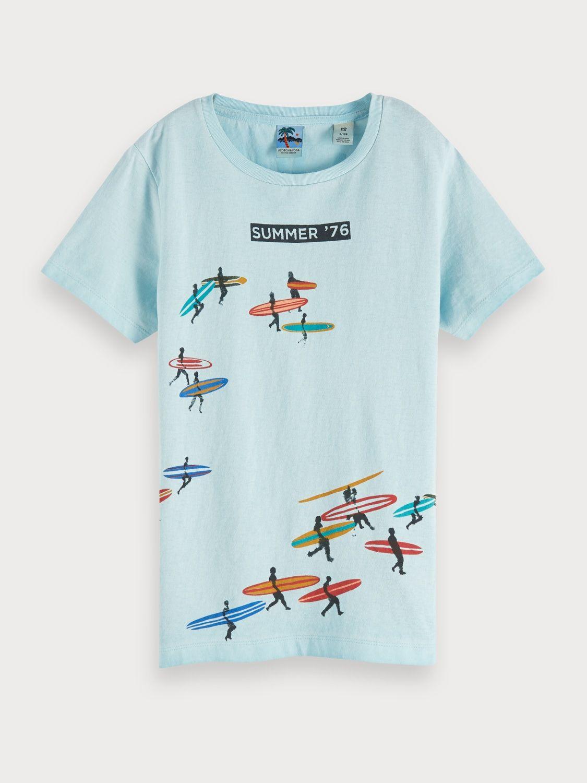 Mini Shatsu Big Boys Neck Tie Doodle T-Shirt
