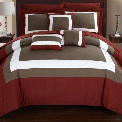 Red Barrel Studio Lowell 10 Piece Comforter Set Size Comforter Sets King Comforter Sets Bedding Sets