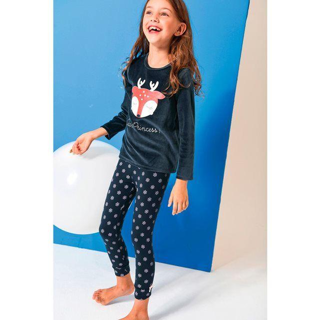 Pyjama de Noël velours 2 - 12 ans 22.99 euros