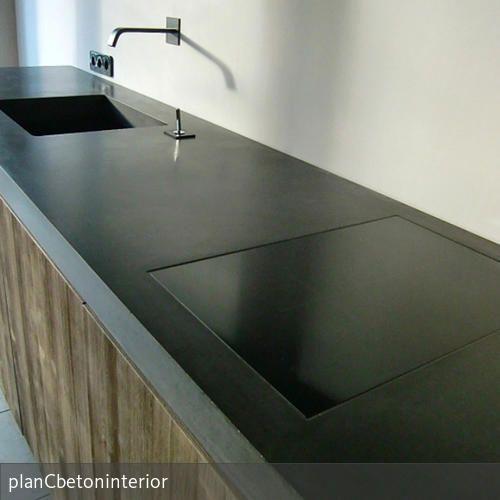Küchenarbeitsplatte Aus Beton küche5 beton