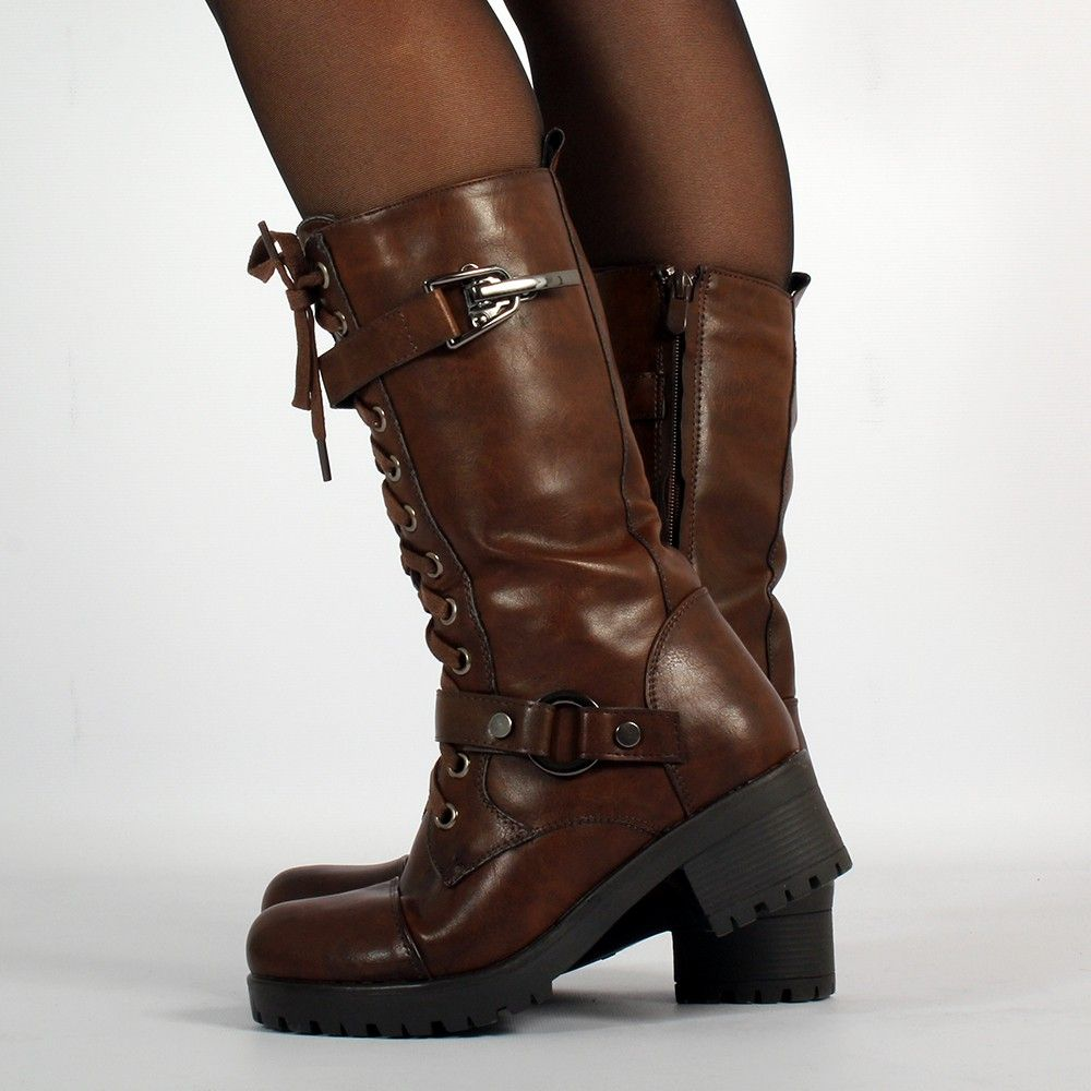 "dezba"" high boots (39€) this amazing vegan steampuck boots would"