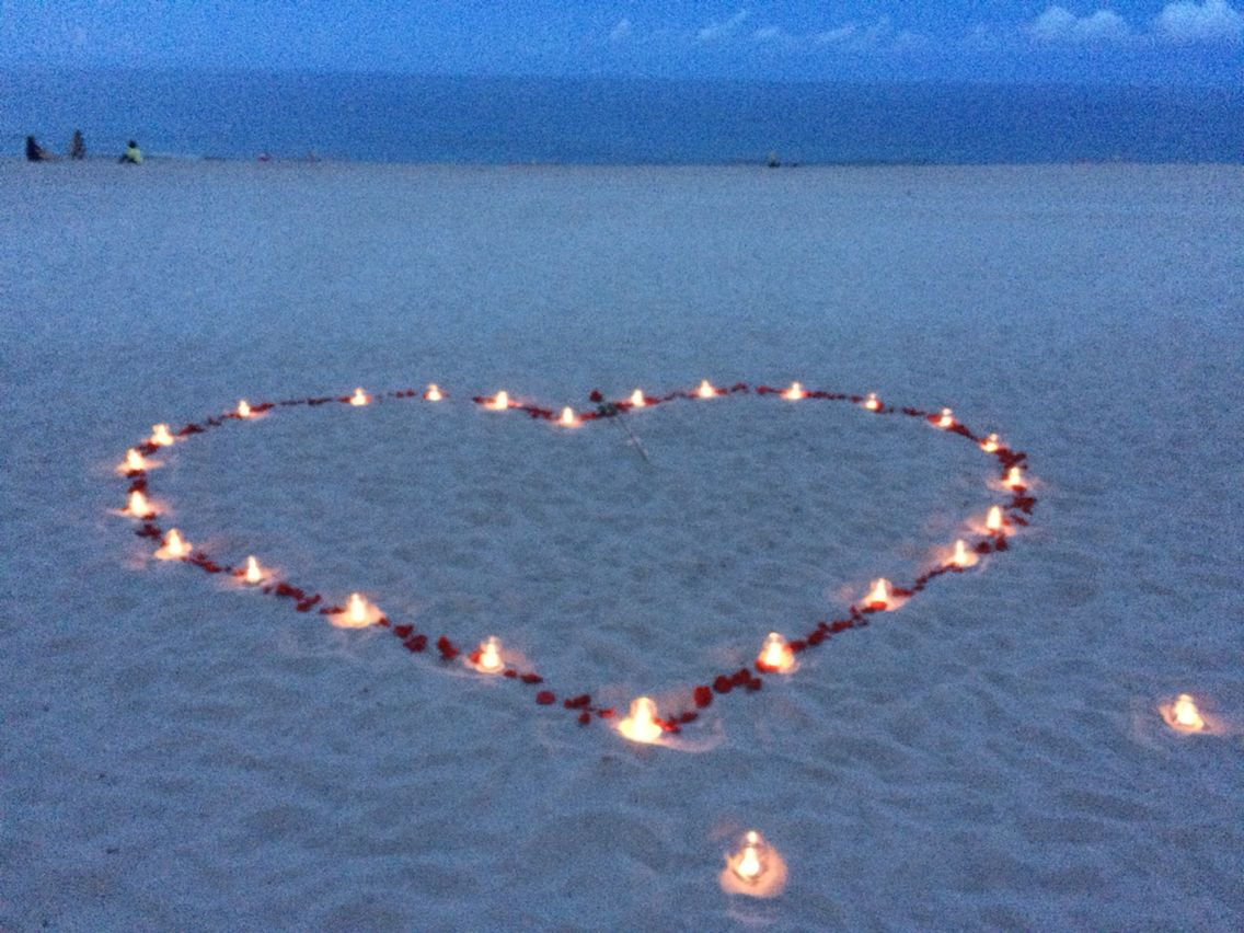 proposal idea romantic beach theme wedding ideas in 2018