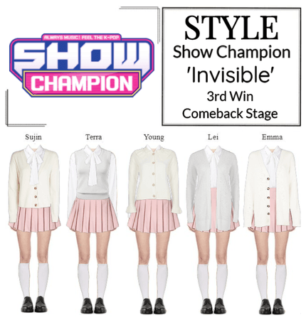 Style The Show Invisible Comeback Stage Outfit Shoplook Stage Outfits Korean Fashion Kpop Inspired Outfits Outfits