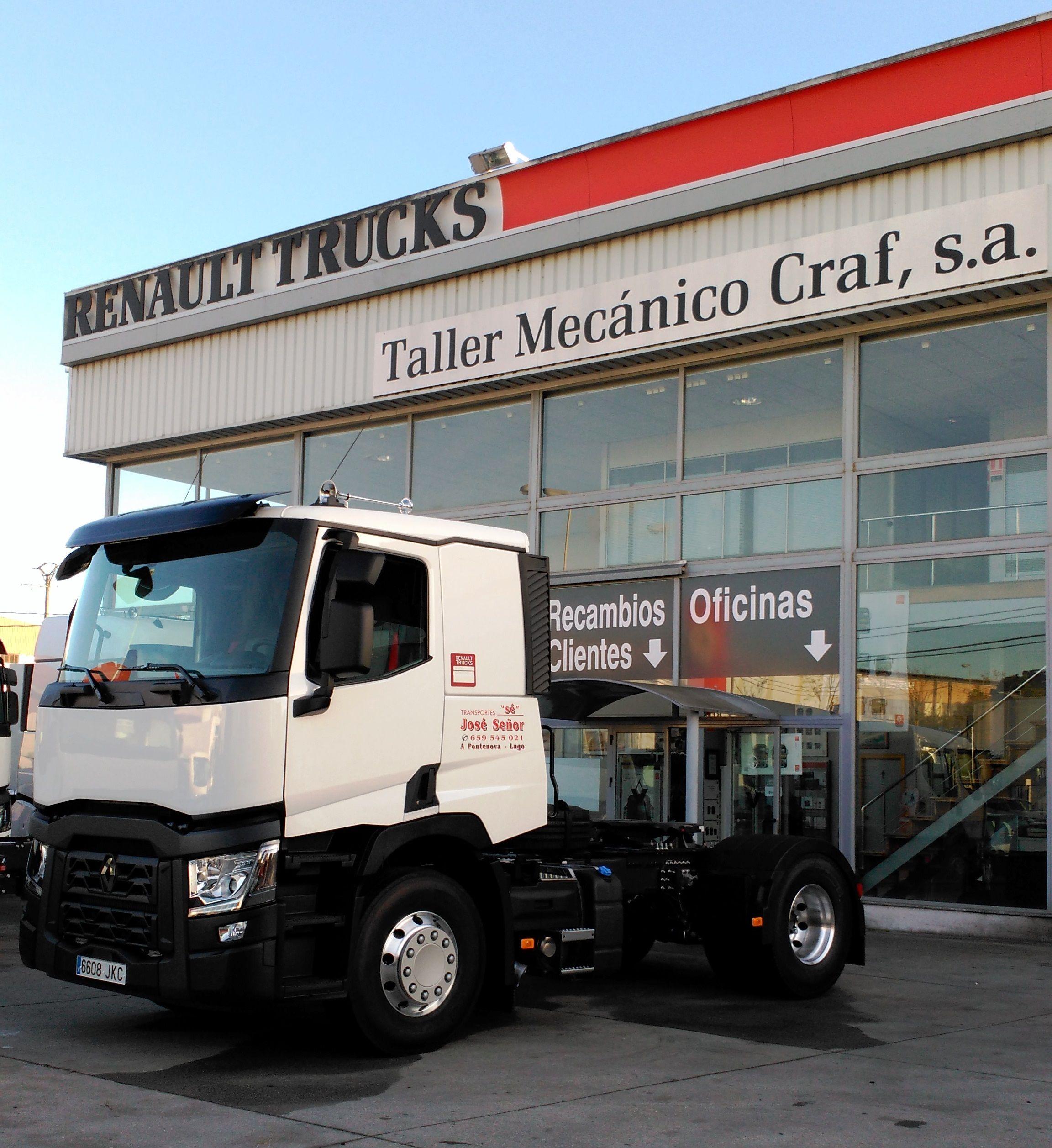 RENAULT TRUCKS T 480 T4X2 E6 - JOSE MARIA SEÑOR (LUGO)   camiones ...