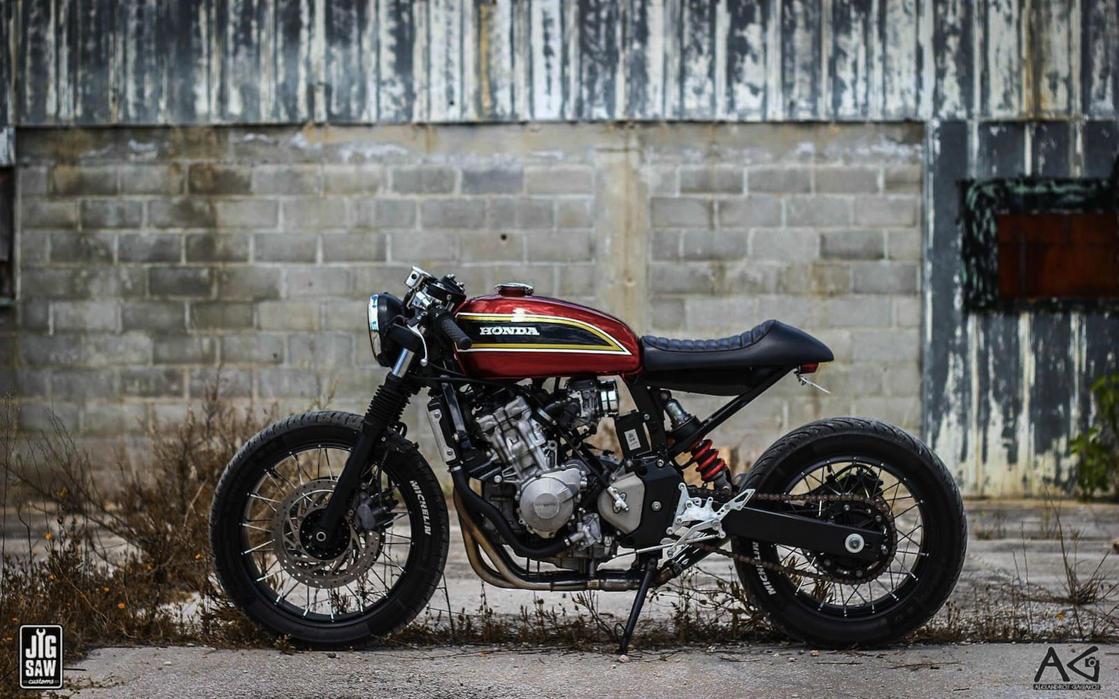 Extrêmement The Hornet's sting | Inazuma café racer | Motorcycles I love  SQ21