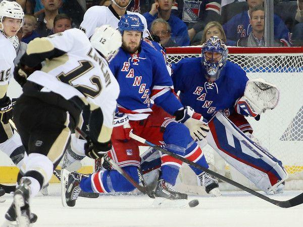 Ben Lovejoy Photos: Pittsburgh Penguins v New York Rangers - Game Two