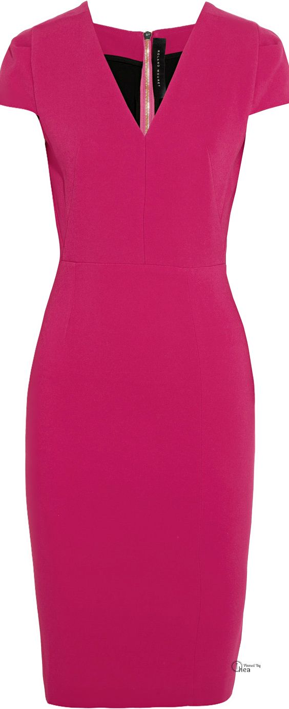 Roland Mouret ● Cajeput stretch-crepe dress