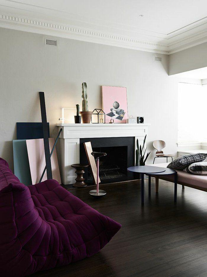 les beaux d cors avec le canap togo l gendaire ligne roset living rooms and nordic furniture. Black Bedroom Furniture Sets. Home Design Ideas