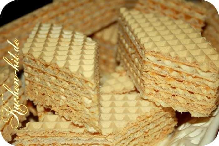 Diese Waffeln Habe Ich Als Kind Immer Zusammen Mit Meinem Papa Zubereitet Ich Hab Dies Russische Torten Rezepte Kekse Backen Rezept Kroatische Rezepte Kuchen