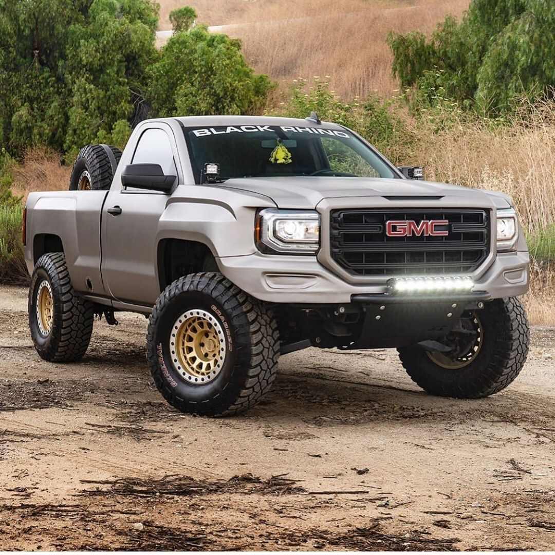 Magnaflow On Instagram A Single Cab Short Bed Prerunner Yes Please The Mfequipped Sierrarunner18 Is Single Cab Trucks Custom Chevy Trucks Dropped Trucks