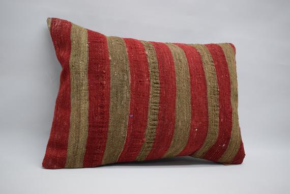 Unique Bohemian Pillow Aztec Kilim Pillow Boho Pillow Throw Pillow