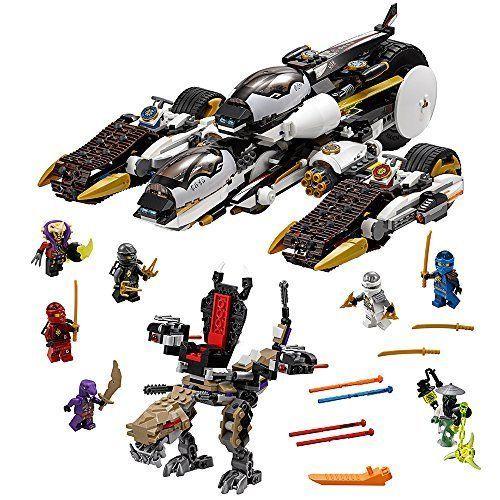 LEGO NINJAGO Ultra Stealth Raider Building Set Toys For Kids Play ...
