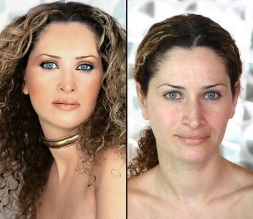 You'd look like a superstar too with some photoshop. This site took ordinary women and turned them into mag-ready models....