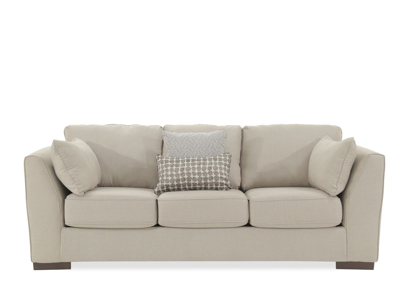 Ashley Lainer Alloy Gray Sofa   Mathis Brothers Furniture ...