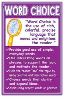 good choice of words
