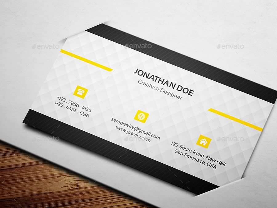 Business Card Modern Business Cards Buy Business Cards Business Card Template