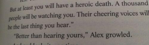 Alex is the definition of having zero chill | Alex Rider