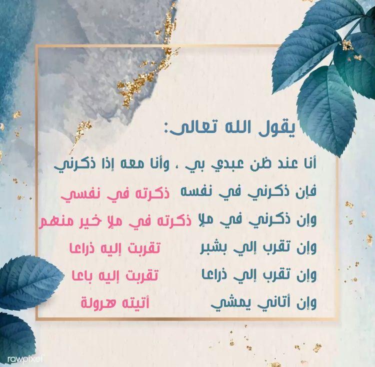 ذكره الله في نفسه ﷻ Islamic Quotes Book Cover Quotes