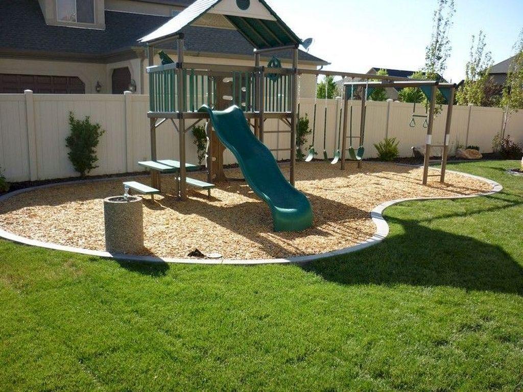 14+ Enchanting Backyard Playground Kids Design Ideas - COODECOR