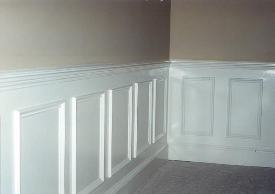 Home Improvements Chair Rail Wainscot Molding Dining Room Inspiration Chair Rail Molding Diy Dining Room