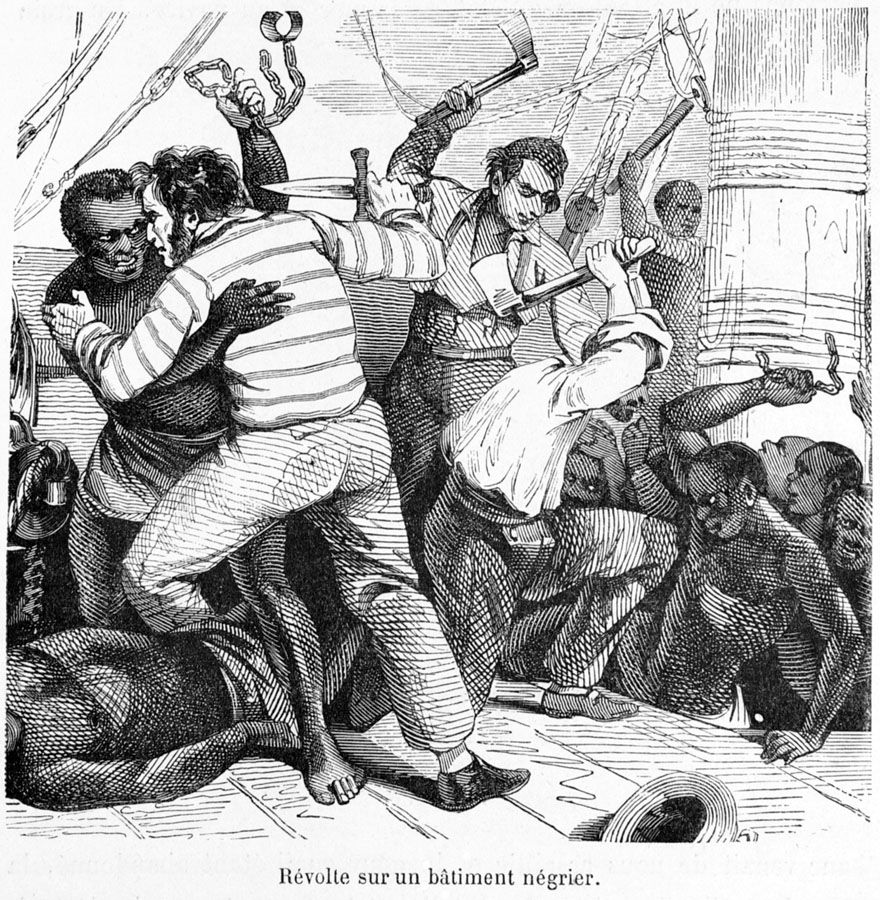 1800 S Colonial Scene On Demand: Slave Rebellion On French Island Of St. Domingue Was Led By Francois-Dominique Toussaint L