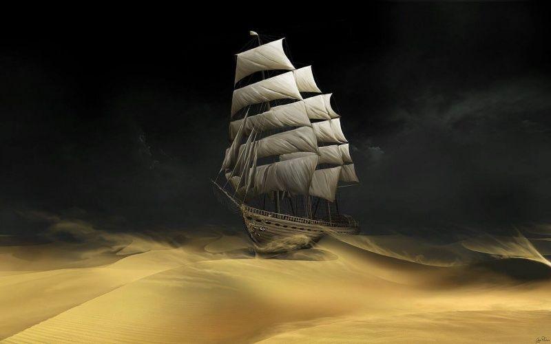 Sailing the Desert par Gate to Nowhere