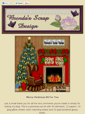 Ad:60% Off Sale,Scrapkits,CU Products,Freebie,& More by Brenda's Scrap Design! http://mad.ly/830d43