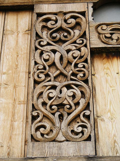 Carvings on the gol stave church north dakota churches