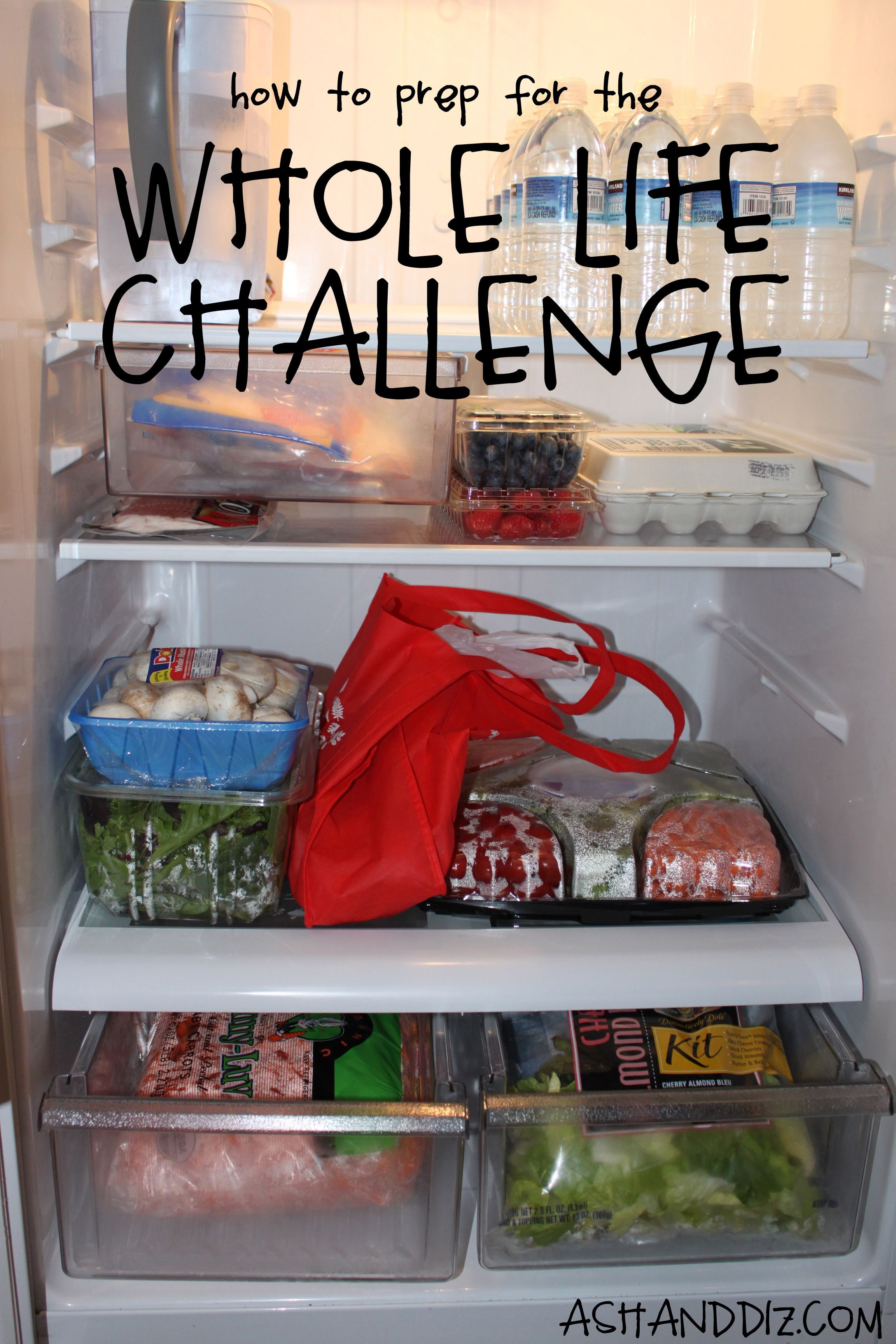 How To Prep For The Whole Life Challenge