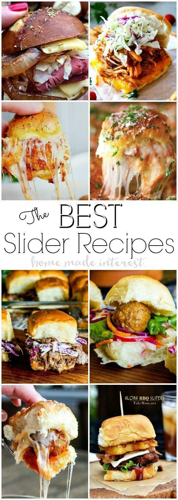Best Slider Recipes