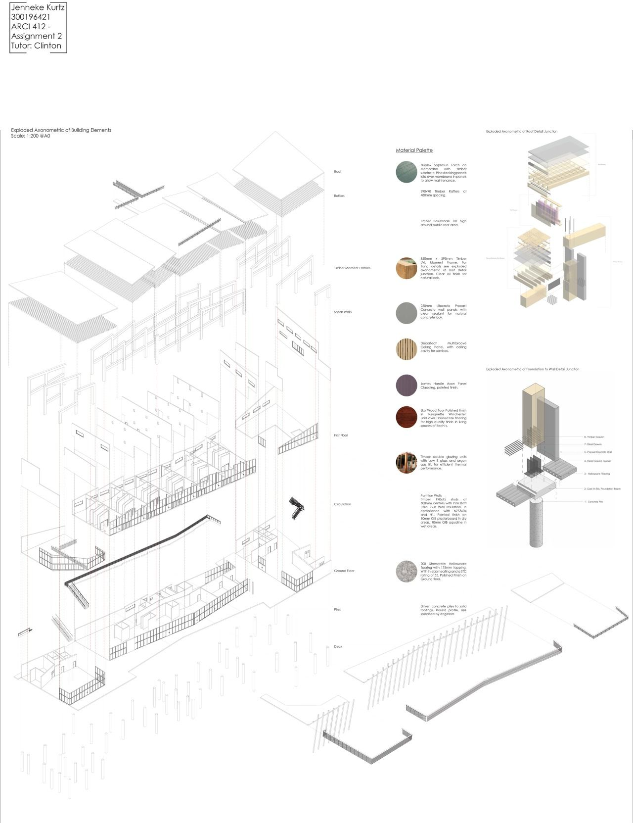 Construction Sequence | Architecture details, Sequence ...